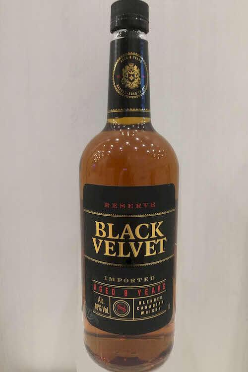 виски Black Velvet Reserve 8 Y.O. в Duty Free купить с доставкой в Санкт-Петербурге