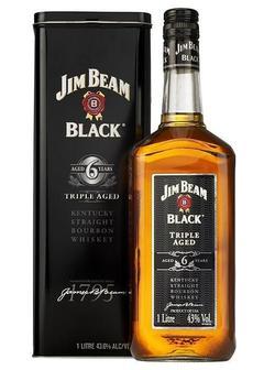виски Jim Beam Black 6 Y.O. в Duty Free купить с доставкой в Санкт-Петербурге