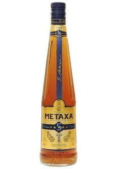 бренди Metaxa 5* Brandy в Duty Free купить с доставкой в Санкт-Петербурге