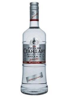 водка Russian Standard Platinum Vodka в Duty Free купить с доставкой в Санкт-Петербурге
