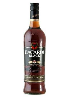 ром Bacardi Black Dark Rum в Duty Free купить с доставкой в Санкт-Петербурге