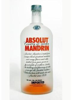 водка Absolut Mandrin в Duty Free купить с доставкой в Санкт-Петербурге