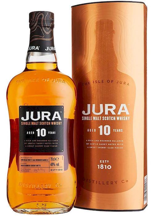 виски Isle of Jura 10 Y.O. в Duty Free купить с доставкой в Санкт-Петербурге