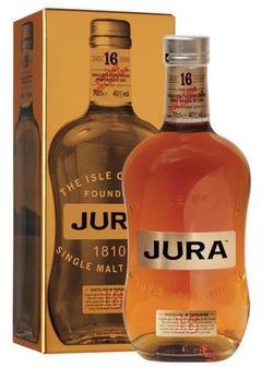 виски Isle of Jura 16 Y.O. в Duty Free купить с доставкой в Санкт-Петербурге