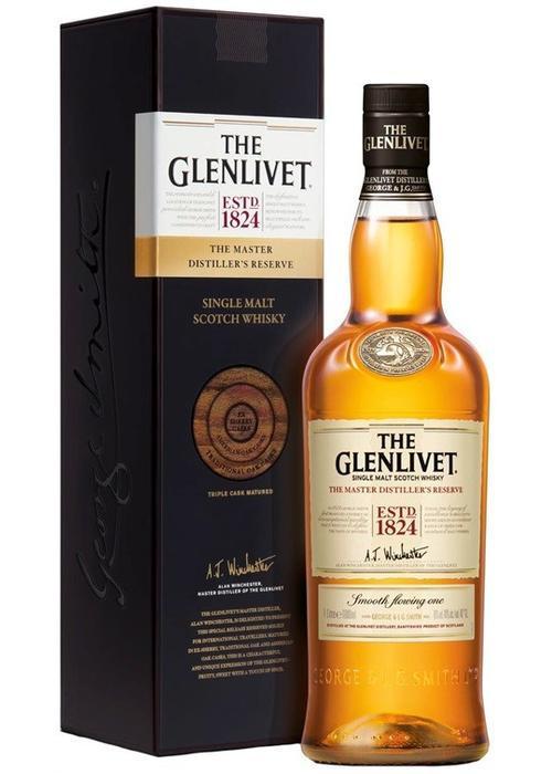 виски Glenlivet Master Distillers Reserve в Duty Free купить с доставкой в Санкт-Петербурге