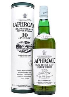 виски Laphroaig 10 Y.O.-0,7 л в Duty Free купить с доставкой в Санкт-Петербурге
