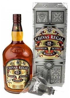 виски Chivas Regal 12 Y.O.-45 л-насос в Duty Free купить с доставкой в Санкт-Петербурге