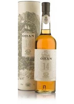 виски Oban malt 14 Y.O. в Duty Free купить с доставкой в Санкт-Петербурге