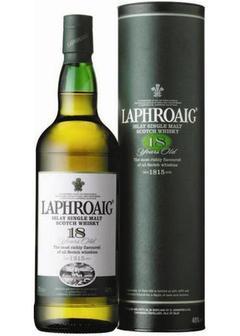 виски Laphroaig 18 Y.O. Single Islay Malt в Duty Free купить с доставкой в Санкт-Петербурге