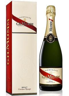 шампанское Mumm Cordon Rouge Brut в Duty Free купить с доставкой в Санкт-Петербурге