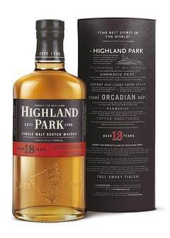 виски Highland Park 18 Y.O. в Duty Free купить с доставкой в Санкт-Петербурге