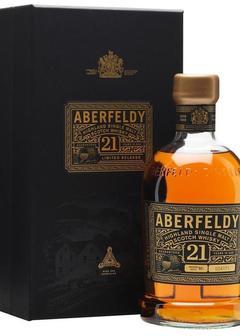 виски Aberfeldy 21 Y.O. в Duty Free купить с доставкой в Санкт-Петербурге