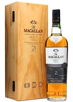 виски Macallan Fine Oak 21 Y.O. в Duty Free купить с доставкой в Санкт-Петербурге