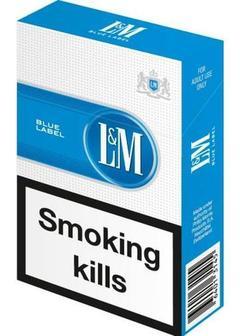 сигареты LM Blue Label в Duty Free купить с доставкой в Санкт-Петербурге