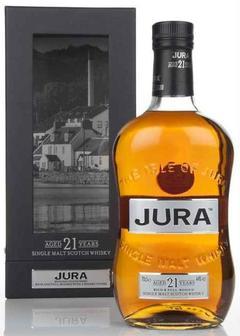 виски Isle of Jura 21 Y.O. в Duty Free купить с доставкой в Санкт-Петербурге