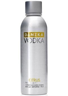 водка Danzka Citrus в Duty Free купить с доставкой в Санкт-Петербурге
