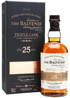 виски Balvenie 25 Y.O. Triple Cask в Duty Free купить с доставкой в Санкт-Петербурге