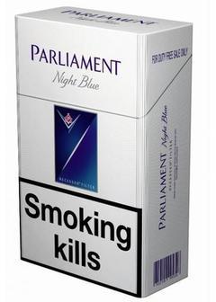 сигареты Parliament Night Blue в Duty Free купить с доставкой в Санкт-Петербурге