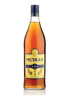 бренди Metaxa 3* Brandy в Duty Free купить с доставкой в Санкт-Петербурге
