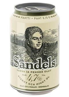 пиво Olvi Sandels в Duty Free купить с доставкой в Санкт-Петербурге
