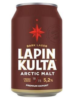 пиво Lapin Kulta Arctic Malt Dark Lager в Duty Free купить с доставкой в Санкт-Петербурге
