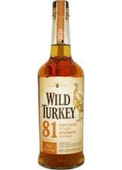 виски Wild Turkey 81 proof в Duty Free купить с доставкой в Санкт-Петербурге