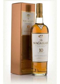 виски Macallan 10 Y.O. Sherry Oak в Duty Free купить с доставкой в Санкт-Петербурге