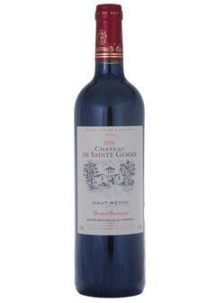 вино Haut Medoc Chateau de Sainte Gemme Cru Bourgeois в Duty Free купить с доставкой в Санкт-Петербурге