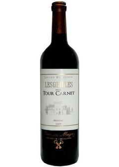 вино Medoc Lesgrilles de la Tour Carnet в Duty Free купить с доставкой в Санкт-Петербурге