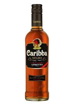 ром Caribba Negro в Duty Free купить с доставкой в Санкт-Петербурге