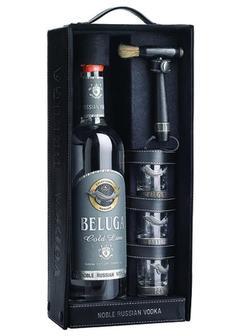 водка Beluga Gold Line в п/у кожа сет в Duty Free купить с доставкой в Санкт-Петербурге