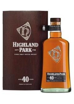 виски Highland Park 40 Y.O. в Duty Free купить с доставкой в Санкт-Петербурге