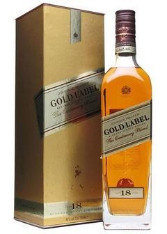 виски Johnnie Walker Gold Label 18 Y.O. в Duty Free купить с доставкой в Санкт-Петербурге