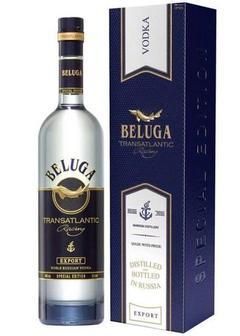 водка Beluga Transatlantic Racing в п/у-картон в Duty Free купить с доставкой в Санкт-Петербурге
