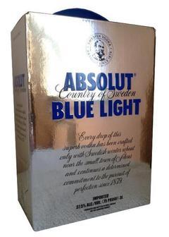 водка Absolut Blue Light в Duty Free купить с доставкой в Санкт-Петербурге