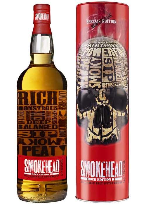 Smokehead Rock Edition II (Смокхед Рок Эдишен 2) приобрести в Санкт-Петербурге по низкой цене с доставкой быстрыми курьерами из магазина Дьюти Фри. Магазин dutyfreespb - тел.8(812)926-5115 купить с доставкой в Санкт-Петербурге