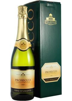 игристое вино Prosecco Palazzo Nobile п/у в Duty Free купить с доставкой в Санкт-Петербурге
