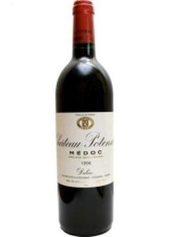 вино Chateau Potensac Cru Bourgeois в Duty Free купить с доставкой в Санкт-Петербурге