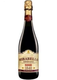 вино Mirabello Lambrusco Rosso в Duty Free купить с доставкой в Санкт-Петербурге