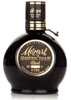 ликер Mozart Black Chocolate в Duty Free купить с доставкой в Санкт-Петербурге