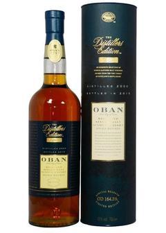 виски Oban Distillers Edition-0,7 л в Duty Free купить с доставкой в Санкт-Петербурге
