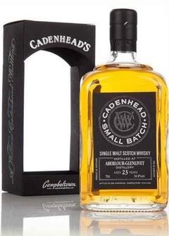 виски Cadenhead Aberlour-Glenlivet 23 Y.O. в Duty Free купить с доставкой в Санкт-Петербурге
