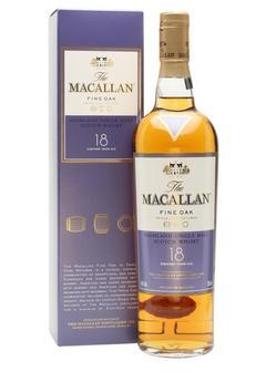 виски Macallan 18 Y.O. Fine Oak в Duty Free купить с доставкой в Санкт-Петербурге