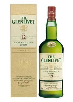 виски Glenlivet 12 Y.O.-0,7 л в Duty Free купить с доставкой в Санкт-Петербурге