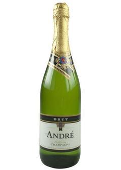 игристое вино Andre Brut в Duty Free купить с доставкой в Санкт-Петербурге