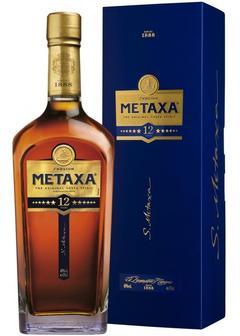 бренди Metaxa 12* в Duty Free купить с доставкой в Санкт-Петербурге