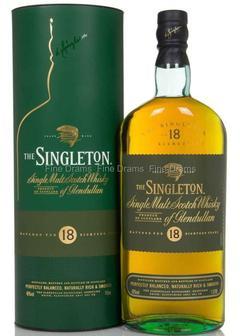 виски Singleton of Glendullan 18 Y.O. в Duty Free купить с доставкой в Санкт-Петербурге