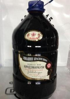 вино Киндзмараули - 5 л в Duty Free купить с доставкой в Санкт-Петербурге