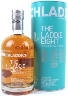 виски Bruichladdich The Laddie Eight 8 Y.O. в Duty Free купить с доставкой в Санкт-Петербурге