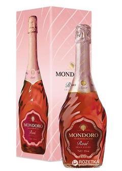 игристое вино Mondoro Rose в Duty Free купить с доставкой в Санкт-Петербурге